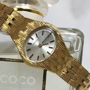 Vintage Accessories - Vintage gold Caravelle watch